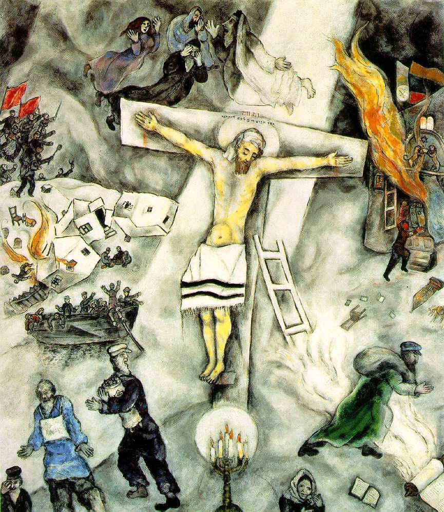 Marc Chagall, White Crucifiction