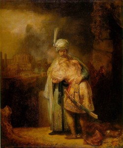 Rembrandt's David and Jonathan
