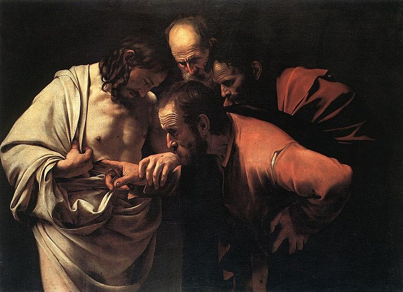 800px-Caravaggio_incredulity