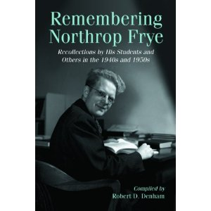 northrop frye essays Northrop frye was a literary theorist and critic born in canada and massively influential across the united states and the english-speaking world raised in a time before it became customary for scholars of literature to pursue a phd in english, frye's education in canada was first of all theological, and he even worked as a.