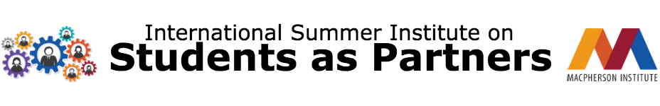 International Summer Institute on Students as Partners